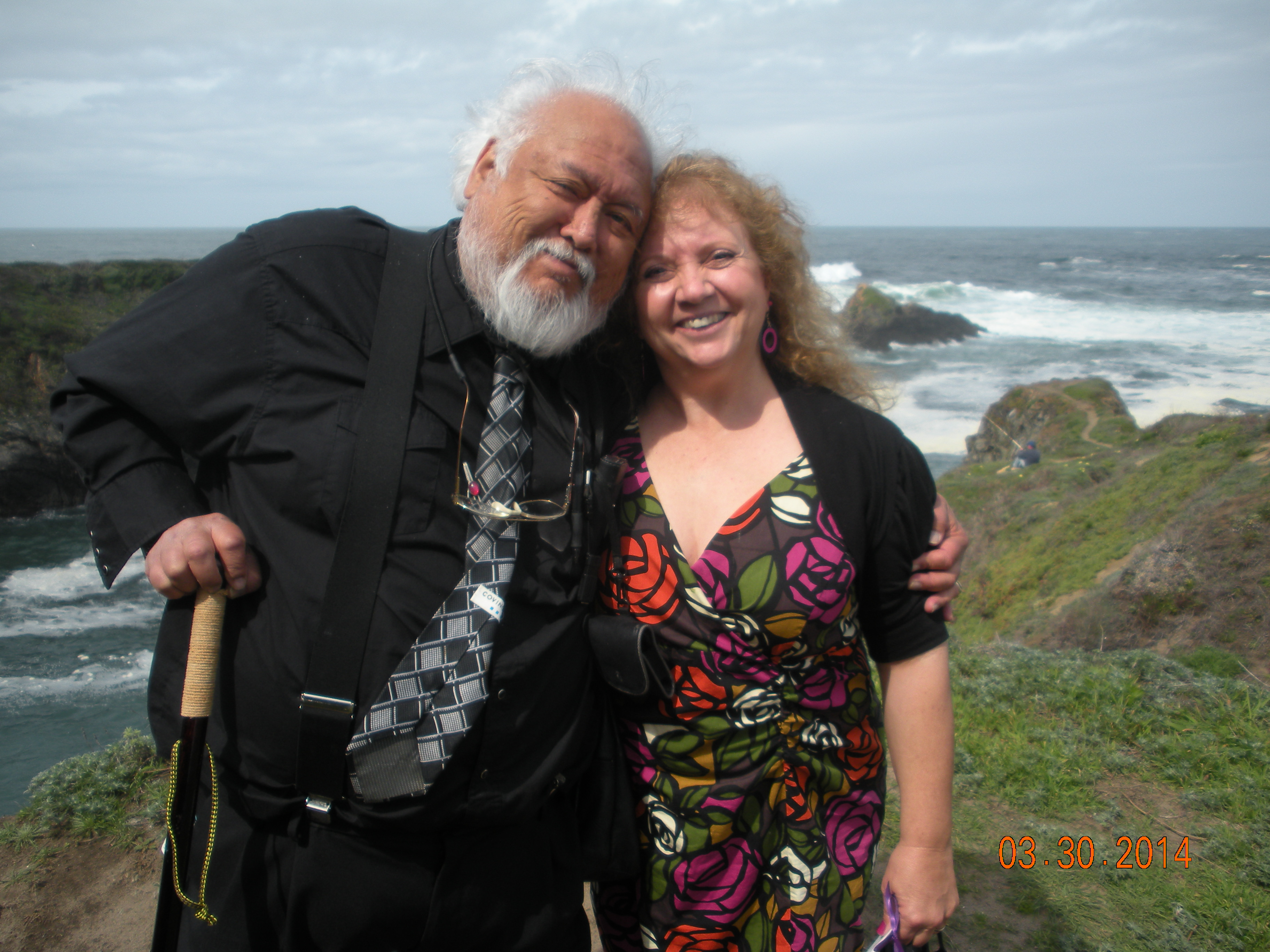 Dave and Pam  at Mendocino Coast
